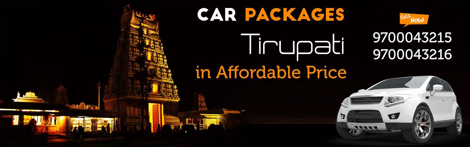 car rentals in tirupati