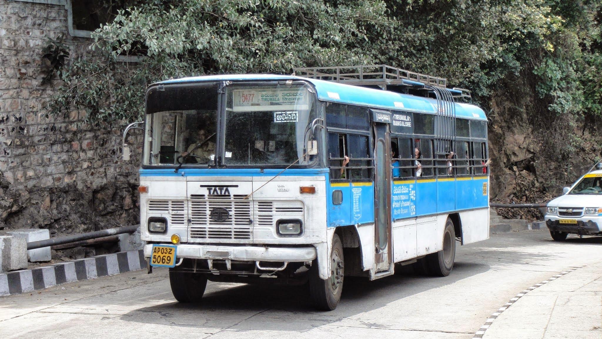 Buses To Tirumala